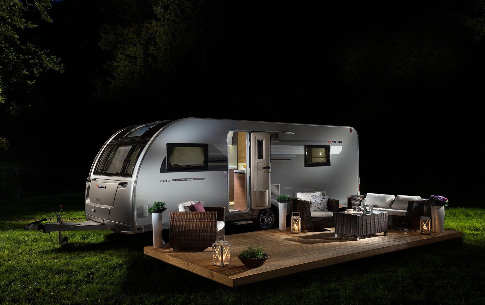 Picture of: Adria Campingvogne